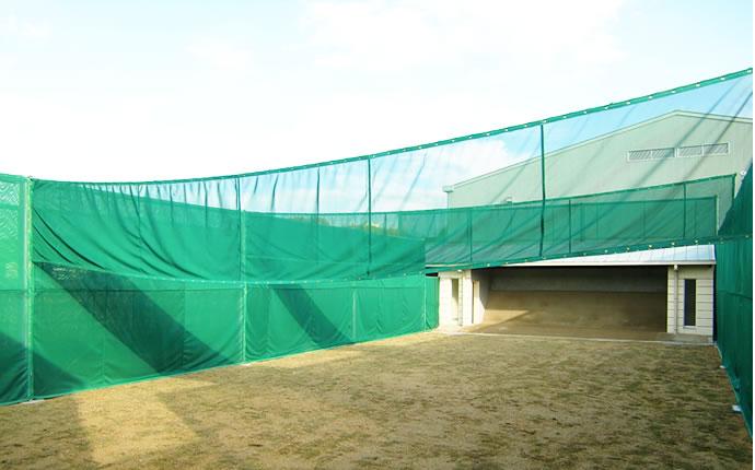 アーチェリーネット・弓道場01
