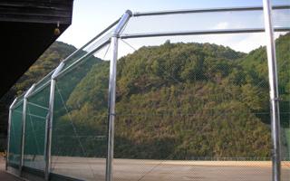 KS型バックネット(天井ネット付き)