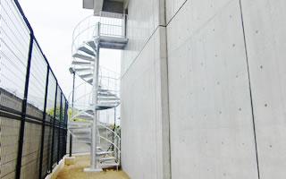 KS型 化粧ラセン階段 RS-1型