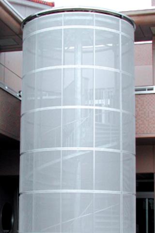 KS型 化粧ラセン階段 RS-3型